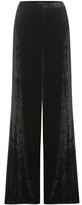 Etro Velvet wide-leg trousers