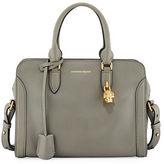 Alexander McQueen Padlock Small Leather Satchel Bag
