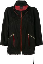 Fendi Pre Owned 2000's elasticated detailing jacket