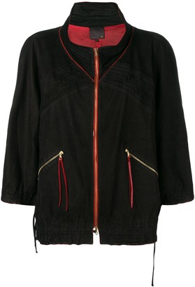 Fendi Pre-Owned 2000's Elasticated Detailing Jacket