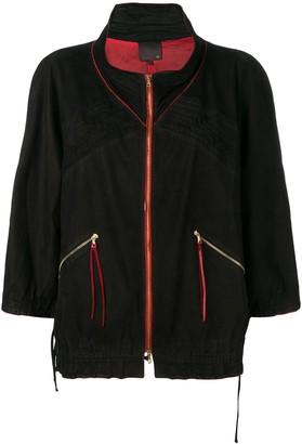 Fendi Pre-Owned 2000's elasticated detailing jacket