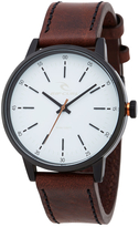 Rip Curl Drake Leather Watch White