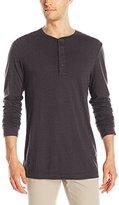 Michael Stars Men's Pacific Long Sleeve Henley Shirt