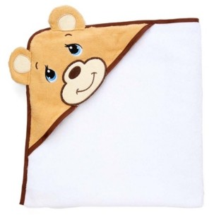 Precious Moments Baby Boys and Girls Hooded Towel