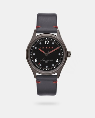 Ted Baker BELEEB Leather strap watch
