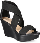 Callisto Hottie Platform Wedge Sandals