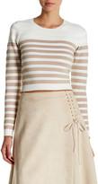 Lucy Paris Anita Striped Pullover Sweater