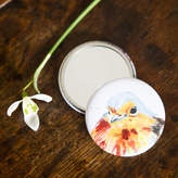 Kate Moby Inky Robin Pocket Compact Mirror