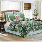 Hallmart Collectibles Lau 8-Pc. Tropical-Print California King Comforter Set