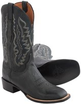 Lucchese Marsh Goat Leather Cowboy Boots - Square Toe (For Men)