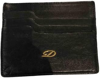 S.t. Dupont Black Leather Purses, wallets & cases