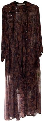 IRO Fall Winter 2019 Brown Polyester Dresses