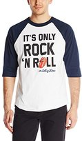 Bravado Men's Rolling Stones Only Rock N' Roll Raglan T Shirt