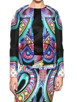 Manish Arora - Printed Silk Dupion Jacket