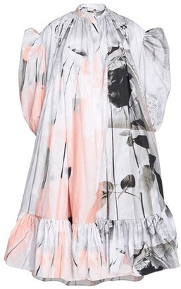 Alexander McQueen Poplin dress