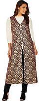 C. Wonder Brocade Lurex Vest with Lining