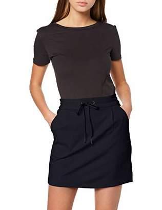 Vero Moda NOS Women's Vmeva Mr Short Skirt Noos, Blue Night Sky, 12 (Size: Medium)