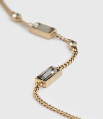 AllSaints Skye Gold-Tone Drop Earrings