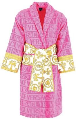 Versace Baroque Logo Robe (Small)