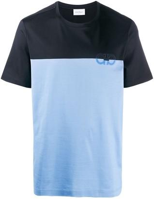 Salvatore Ferragamo double Gancini T-shirt