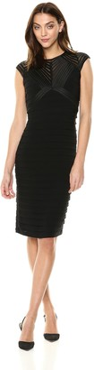 Betsy & Adam Women's Short Bandage Dress
