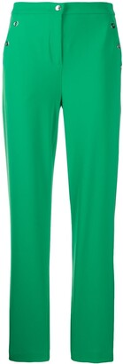 Boutique Moschino High-Waisted Straight Trousers