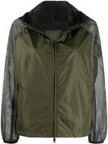 Moncler net-detail jacket