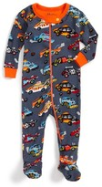 Hatley Infant Boy's Organic Cotton Fitted One-Piece Pajamas