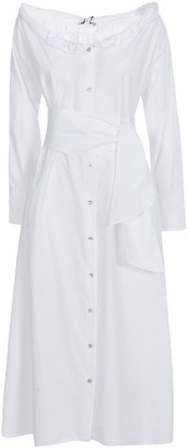 Kenzo Collar Roll-up Long Dress