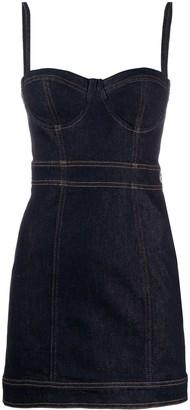 Just Cavalli fitted denim dress