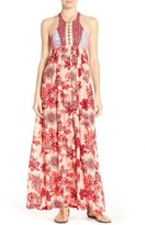 Maaji Forever Red Cover-Up Maxi Dress