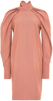 Carven Pleated Dolman Sleeve Dress