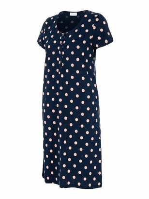 Mama Licious Mamalicious Women's Mlchill Lia S/s Jersey Night Dress Nf
