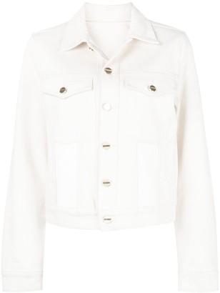 Dion Lee panelled denim jacket