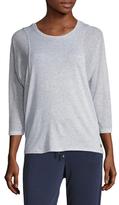 Betsey Johnson Mesh Batwing Hooded Sweater
