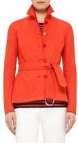 Akris Punto Women's Short Trench Coat