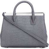 Thomas Wylde embossed crocodile effect tote - women - Calf Leather - One Size