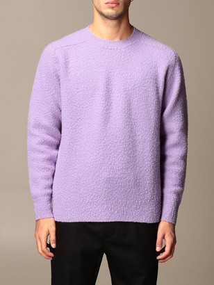 Grifoni Virgin Wool Crewneck Sweater With Casentino Effect