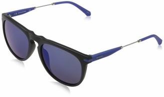 Calvin Klein Men's CKJ19700S 5418 (001) MATTE BLACK Sunglasses