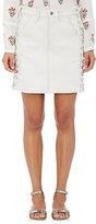 A.L.C. Women's Ringo Lace-Up Cotton-Blend Miniskirt