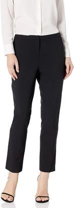 Ellen Tracy Women's Slim Ankle Zip Pocket Pant