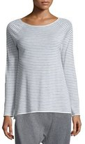 Eileen Fisher Cashmere Striped Wool Tunic