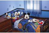 Disney ; Mickey Mouse 4 Piece Bed Set - Blue (Toddler)