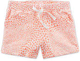 Carter's Heart-Print Cotton Shorts, Toddler Girls