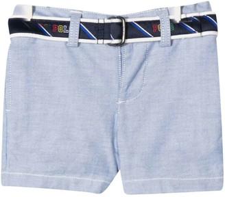 Ralph Lauren Blue Shorts With Belt