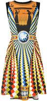 Mary Katrantzou fresco sublimated dress - women - Spandex/Elastane/Viscose - 8