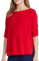 Lauren Ralph Lauren Solid Boatneck Sweater