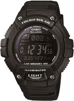 Casio Solo Runner Mens Black Multifunction Watch WS220-1BV