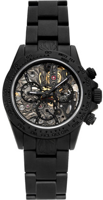MAD Paris Black Customized Rolex Daytona SK II Watch