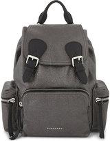 Burberry Medium Metallic Leather Backpack